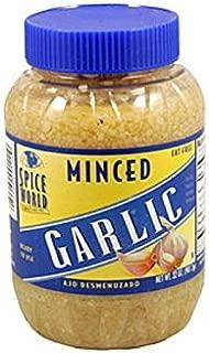 Spice World Minced Garlic, 32 oz