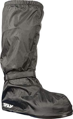 FLY Racing Black Rain Cover for Motorcycle Boot, Rain Gear for Men and Women