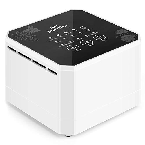 potulas True HEPA 3-in-1 Filter Desktop Air Cleaner Now $24.99