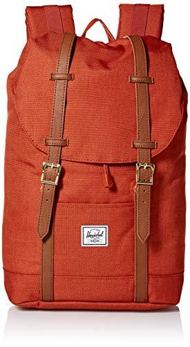 Herschel Retreat Backpack Red Picante Crosshatch MidVolume 140L
