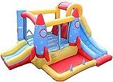 WXHHH Hüpfburg für Kinder, Toy Square Kletterwand Hüpfburg und Rutsche, Rutsche Trampolin...