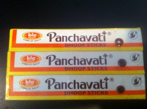 """Dpnamron Panchavati Dhoop Sticks - One Dozen Boxes - 5"""" King Size"""