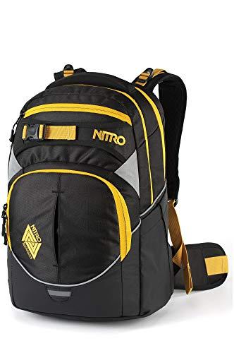 Nitro Superhero Pack Sac à Dos Mixte, Noir doré, 44x30x22cm / 30 Liter