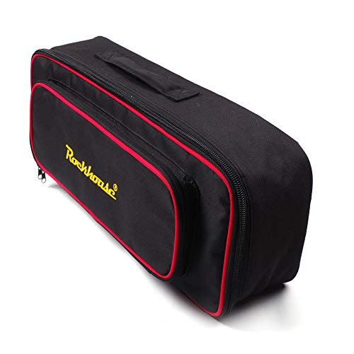 NA Musikinstrument-Zubehör, Monoblock-Effektplatte, tragbar, tragbar, für Gitarreneffekte, Pedalboard, Rockboard-Koffer