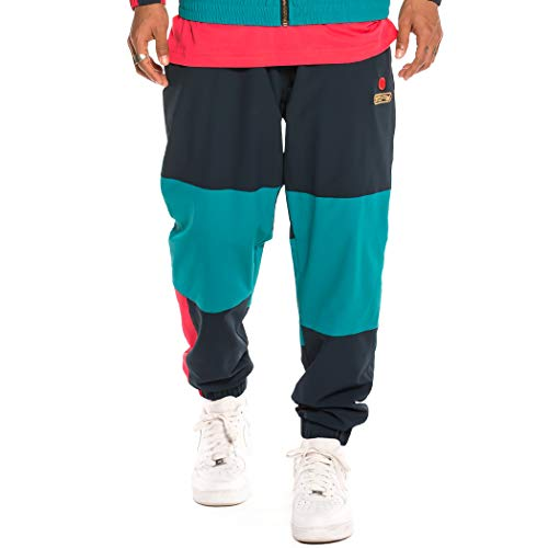 GRIMEY Pantalón Engineering Track Pants FW19 Navy-XXL