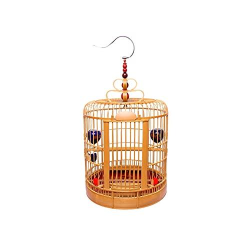 Kit gabbia per uccelli da volo Gabbia per uccelli Thrush Birdcage Sichuan Bird Cage Chengdu Thrush Bird Cage Guizhou Bird Cage Cage Bamboo Cage Handmade Bamboo Cage Gabbie per uccelli da compagnia