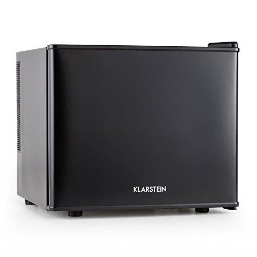Klarstein Geheimversteck Minibar Minikühlschrank Mini Snacks- und Getränkekühlschrank (EEK: A+, 17 L, 38 dB leise, herausnehmbarer Regaleinschub, stufenloser Temperaturregler) schwarz