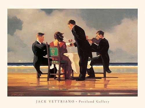 Jack Vettriano Poster/Kunstdruck Elegy for a Dead Admiral 80 x 60 cm