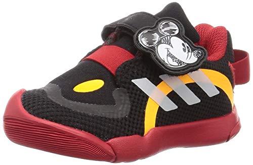 adidas ActivePlay Mickey I, Zapatillas Deportivas Unisex bebé, NEGBÁS/FTWBLA/Escarl, 21 EU
