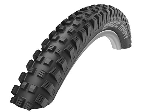 Schwalbe Magic Mary HS447 FB. Neumáticos para Bicicleta, Unisex Adulto, Negro, 29x2.35