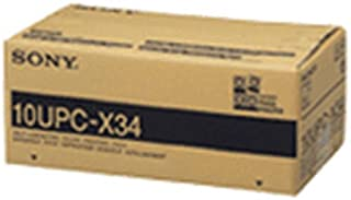 """DNP 10UPC-X34 3.5"""" x 4"""" Self-Laminating Color Printing Pack for the Sony UPX-C100 & UPX-C200 Digital Printing System"""