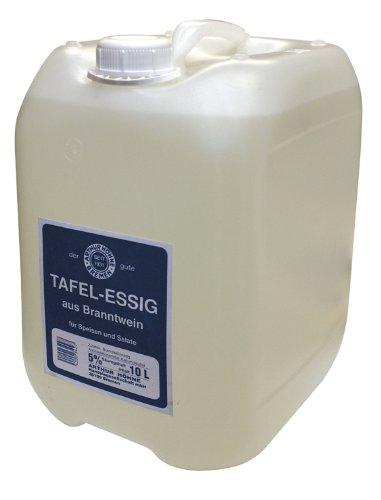 Alzata da tavola, 5% di acidi, confezione da 1 (1 tanica da 10 litri)