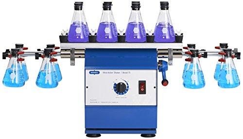 Burrell Scientific 075-765-16-19 Wrist Action Shaker with Top Platform, Model 75-BT, Blue/White