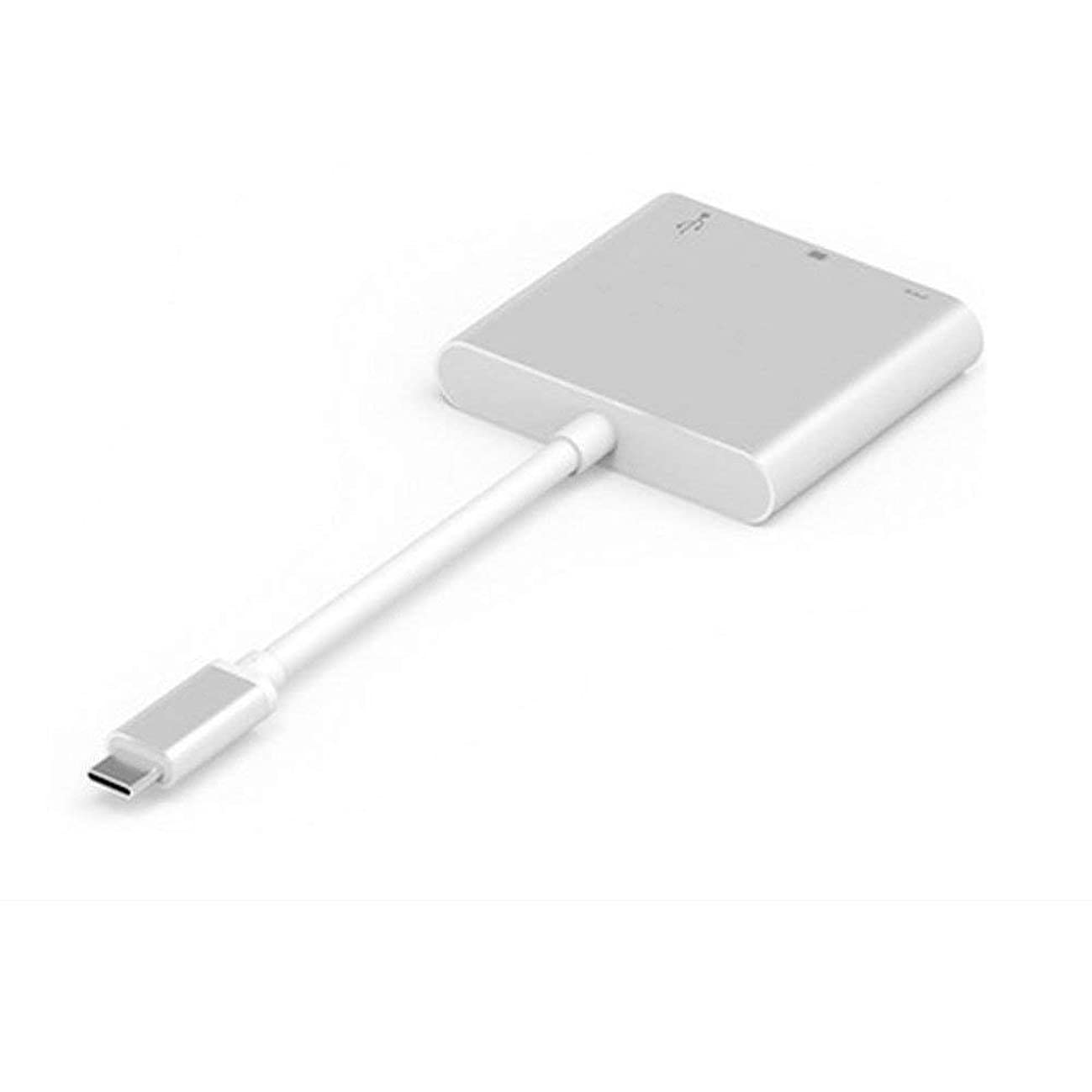 Manakayla TC07 USB3.1 Type-C to HDMI Adapter Cable HDMI Converter 4K2K HD Display Gray