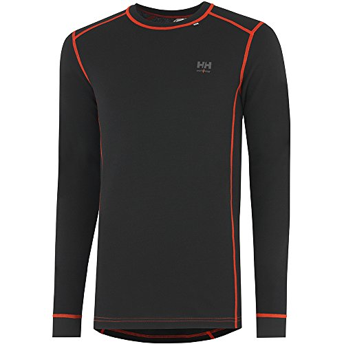 Helly Hansen 75026_992 Rundhals-Shirt Roskilde Größe XL in schwarz/orange