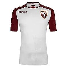 Kappa Camiseta Torino 2a Equipacion 2017/2018 Oficial, Hombre