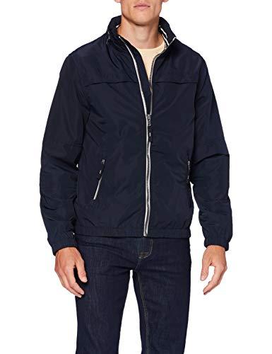 Springfield 5HE-Chaqueta C/Funnel R-c/10 Deportiva, Azul (Navy 95751810), XS (Tamaño del Fabricante: XS) para Hombre