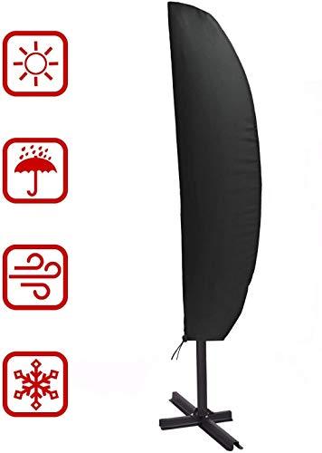 Copertura per ombrellone, Onbrellone da Giardino, Coperture per Esterno, Impermeabile Traspirante 210D Poliestere Taffettà Resistente alla Protezione per Ombrellone da Giardino