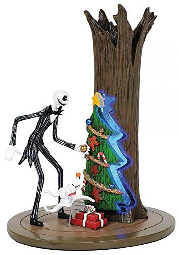Department 56 Nightmare Before Christmas VLG Jack Discovers Christmas Town Figurine, 6.5 inch High