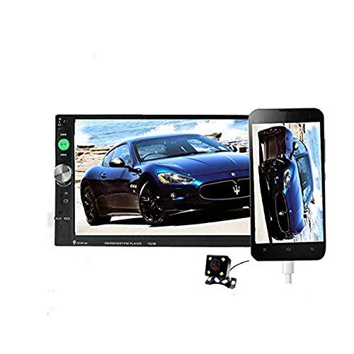 Autoradio 2 Modelli Generali di Auto DIN Display LCD da 7 '' Touch Screen 4LED Autoradio Lettore Bluetooth Car Audio 7023B