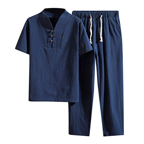 Xmiral Tee, T-Shirt Uomo Stretch SlimTee, T-Shirt Uomo T-Shirt Uomo Maglia Maglietta Pantaloni Impostato XXXL Marina Militare-2