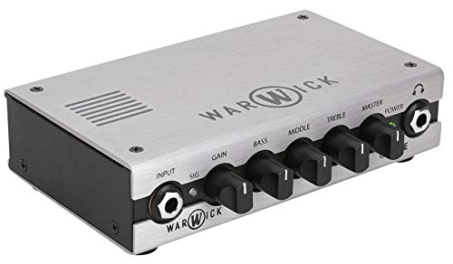 Warwick Gnome Pocket Bass Amp Head - Amplificador de bajos (200 W)
