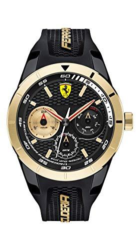 Scuderia Ferrari 830380 herenhorloge, kwarts, met siliconen armband