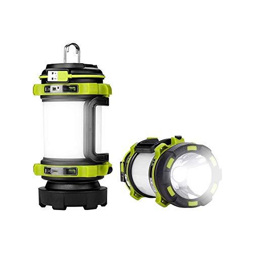 LKNJLL LED Linterna Camping, LED alimentadas por baterías con 600LM, Tienda Impermeable Ligero, Linterna Linterna for el huracán, de Emergencia, Kits de Supervivencia, Senderismo, Pesca, hoga
