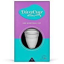 DivaCup - Menstrual Cup - Feminine Hygiene - Leak-Free - BPA Free - Model 2