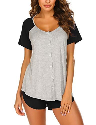 Doneto - Pijama - para mujer 5229_grau XXL