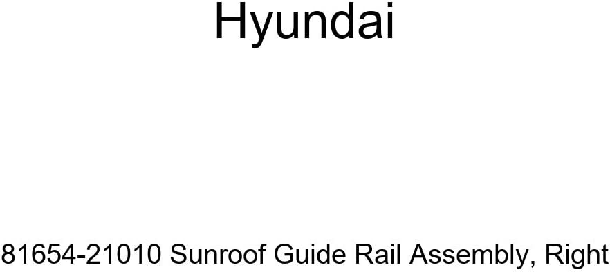 Genuine Hyundai 81654-21010 Miami Mall Sunroof Assembly Right Rail Long-awaited Guide