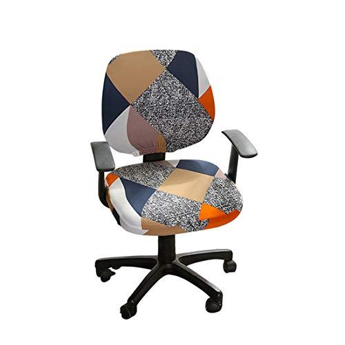 Renhe Stuhlbezug Bürostuhlbezug Waschbarer Elastischer Sitzbezug Computer-Bürostuhl Bezug Universal Stuhl Bezüge für Bürostuhl Computer Stuhl Armlehnen Stuhl #1