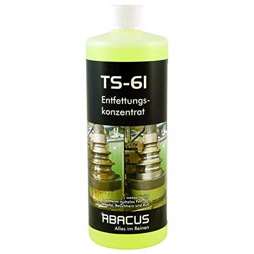 TS-61 Universalreiniger 1000 ml (2650) - Universalreiniger-Konzentrat Entfettungskonzentrat Entfetter Fettlöser Nikotin Öl Ruß Schwefel Glanzruß Rauchharz Entferner Heizkesselreiniger - ABACUS