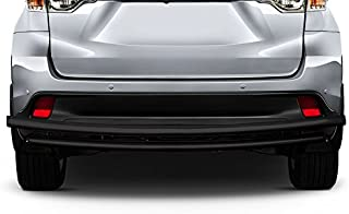 Kasei DL-TOT101B Black Powder Coated Rear Bumper Guard Double Layer Compatible with 2001-2019 Toyota Highlander / 2003-2015 Lexurs RX330 RX350 RX450H