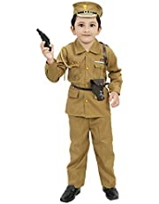 Chandrika Police Costume Dress for Kids (4-5 Years)