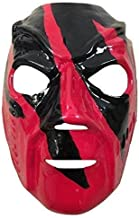 WRESTLING MASKS UK Fibreglass Deluxe The Purge Anarchy Cross Mask Buckle Strap Universal