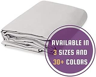 Cotton Canvas Drop Cloth (10 feet x 12 feet, White)