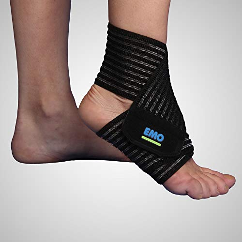EMO Vendaje elástico Strapin de tobillo 80 cm talla universal ✅