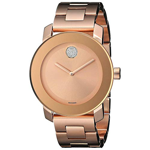 Women's Bold Rose Gold Dial Watch - Movado 3600086