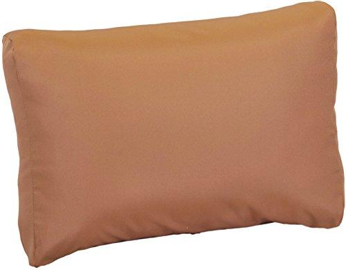 Beo Beo LRP 70x40PY201 Lounge Rückenkissen mit Reissverschluss und wasserabweisendem Stoff, Sand, 70 x 40 cm