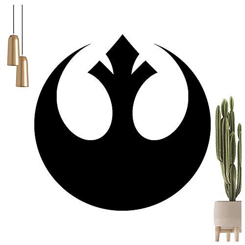 KIWISTAR Rebellen-Allianz Wappen Symbol Wandtattoo in 6 Größen - Wandaufkleber Wall Sticker