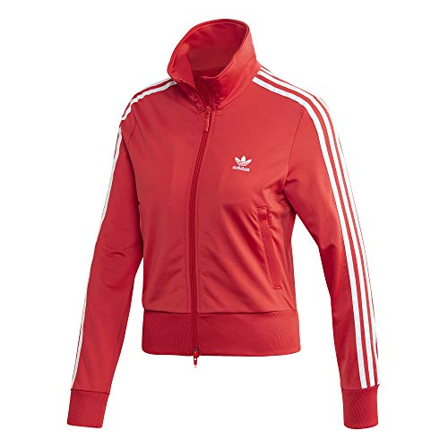 adidas Damen Firebird TT Sweatshirt, Lush red, 38