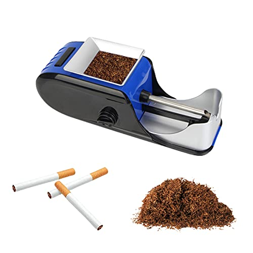 XIAOZSM Maquina Entubar Electrica, Tabaco De Liar, Maquina De Liar Cigarillos Electrica,...