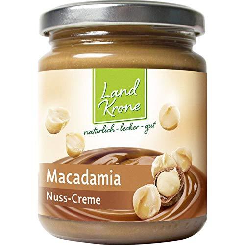 Landkrone Bio Macadamia Creme, 2 x 250 g