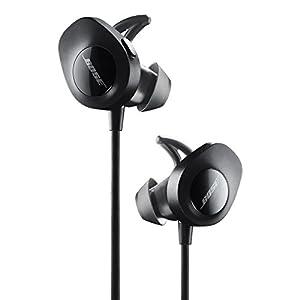Bose SoundSport Wireless, Sweat Resistant, In-Ear Headphones, Black