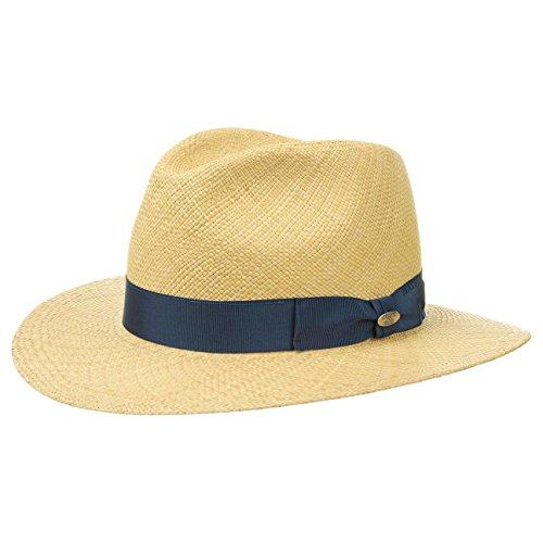 Mayser Chapeau Blue Menton Panama Paille de (56 cm - Nature)