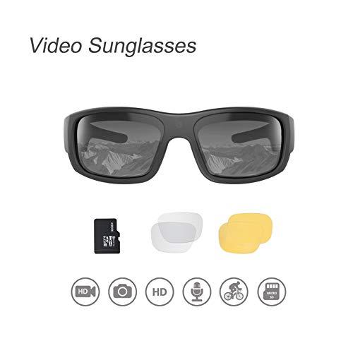 OhO Video Sunglasses,32GB 1080 HD Video Recording Camera for 1.5 Hours...
