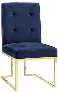 Best akiko navy velvet chair Reviews