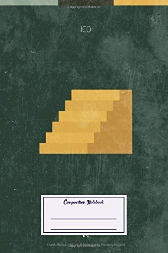 Composition Notebook: Gaming Ico Minimal Videogame Minimal Videogame Posters (Composition Notebook, Journal) (6 x 9)