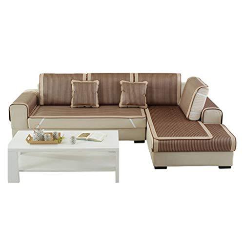 ALGWXQ Colchón de Ratán de Hierba Durable Alta Tenacidad Estera de Dormir de Bambú Tejido de Verano Usado para Sofá, Suelo, Sala, 18 Especificaciones (Color : A, Size : 70X90cm)